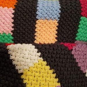 Hand crocheted baby blanket #HM5